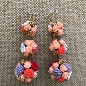 Bauble Bar Bouguet Earrings